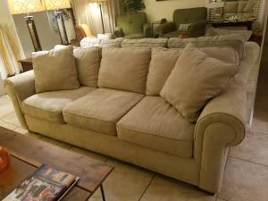 Excellent BAUHAUS Living Room Couch (Sahara and I-15)