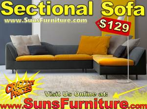 New Sofa For Sale - Sectional Couch Chairs Living Room Furniture (free delivery