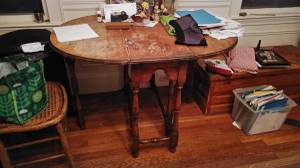 Kitchen Room table (Belmont, MA)