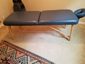 Massage Table - Moving - MUST GO CHEAP (Grayson)
