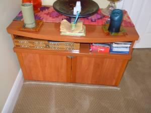 Cabinet TV Stand (Boca Raton)