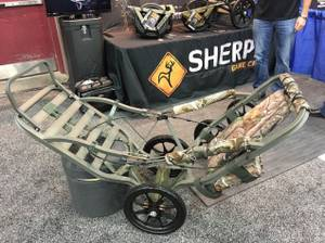 Convert your api are summit deer stand in to a game cart (Azle)