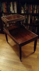 Vintage mahogany end table, price reduced! (Methuen, MA)