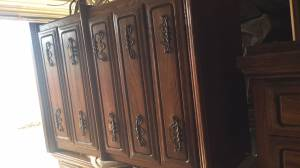 Dressers/desk/end table set (Weatherford, OK)