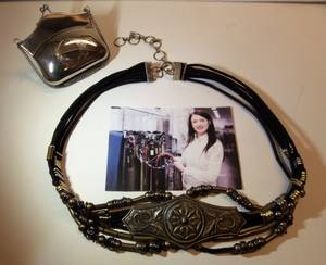 BEAUTIFUL PURSE and BELT...MAKES A GREAT GIFT