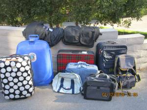 Suitcase , luggage, selection (santa barbara)