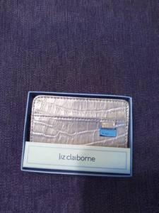 light gold Liz Claiborne wallet (manchester)