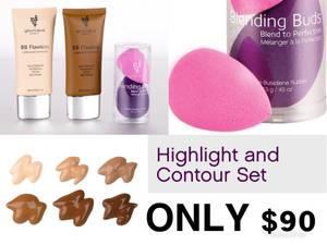 Highlight and contour set