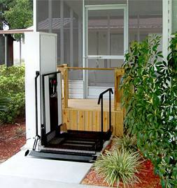 Residential Wheelchair Porch Lifts (Connersville, IN)