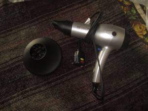 new REVLON 1875W ionic ceramic HAIR DRYER BLOWER (fresh meadows)