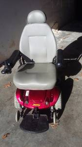 JAZZY SELECT -- mobility scooter -- power chair - VERY stable 6 wheels (Nashua)
