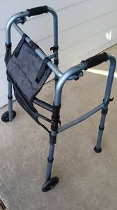 Adult Folding Walker (Wheat Ridge)