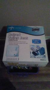 Medline raised toilet seat (Stockbridge)