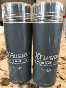 Toppik XFusion Keratin Hair Fibers (Gray) - Two 28g