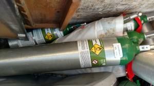 Air gas Medical oxygen 679 liter 3ft tall full (new berlin)