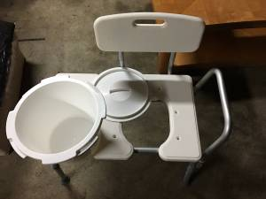 Brand new commode (Graham)