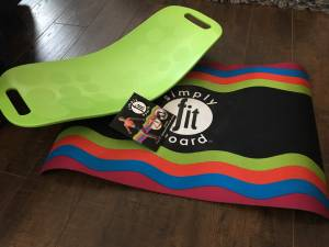 Simply Fit Board, Mat and DVD $30.00 (Burleson)