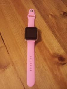 Pink smart watch (Collierville)