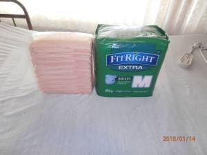 FitRight extra briefs/diapers (las vegas)
