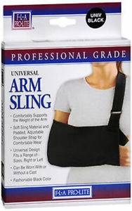 arm sling-black medium adult (boca raton)