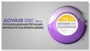 ADVAIR 250/50 ASTHMA COPD DISCUS INHALER S (Mesa)