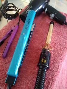 Curling Irons and straighteners (Denver)