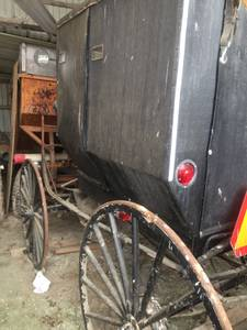 Amish buggy (Willard)