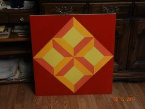 wooden barn quilts (milton)
