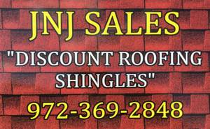 ROOFING SHINGLES/TEJA at DISCOUNT PRICES! (30 min East of Dallas