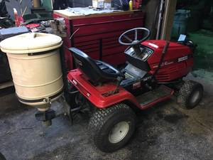 Huskee Lawn Tractor With Salt Spreader! (Phoenixville)
