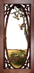 NEW Decorative Oak Screen Doors, 9 Designs (Mankato)