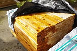 QTY] 1X4 X 4' Cedar Trim (Tumwater)