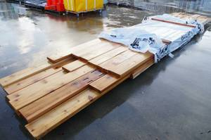 32] 2x8 Cedar Boards, Lengths up to 20' (Tumwater)