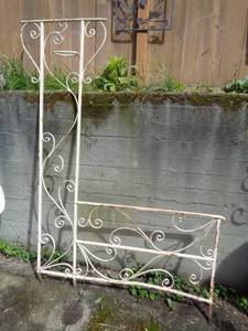 Wrought Iron Porch Railing (Ballard)