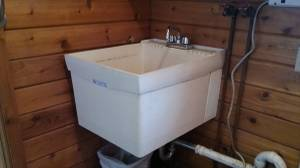 Wall mount Laundry tub and faucet (McKean,PA)