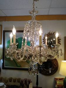 Crystal Chandelier (Chamblee)