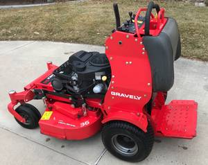 commercial Lawnmowers Gravely Pro Stance
