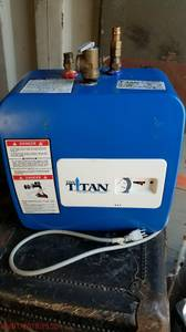 Titan 2.5 gal hot water heater (Memphis)