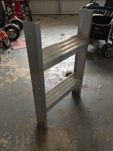 Section of Aluminum Ladder (Germantown)