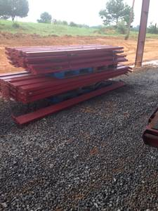 Used commercial pallet racks (Cullman)