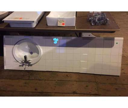 Ceramic Tile Counter top with sink/faucet