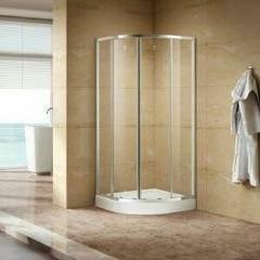 Round corner shower unit/brand new/ (No. Brunswick)