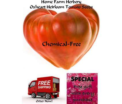 You will love our Tomato Oxheart Pink Heirloom Seeds, Order now, free Shipping &