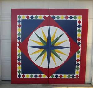 Barn Quilts - Custom painted in all sizes (Woodford County, KY)