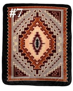 Southwest Style Luxurious Plush Blankets 79