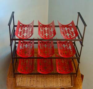 Wine: Racks, Caddy's, Candles, Glasses (Westerville/Galena)