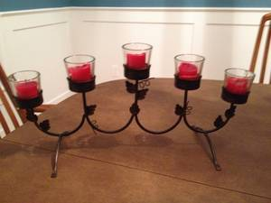 Votive candle holder display (Marshfield)