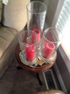 Restoration Hardware Crystal Candle Holder Set (New Albany)