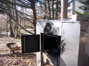 out door furnace Mahoning (Pylesville)