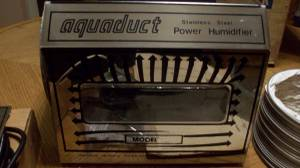 vintage retro whole house humidifier AQUADUCT (shelby twp)